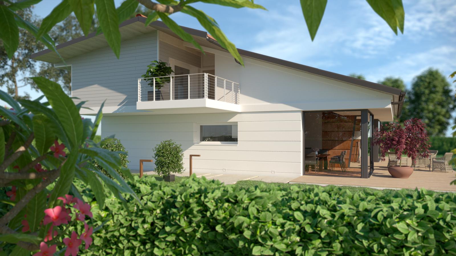 Render 3d rendering architettonico edilizia arredo urbano for Rendering giardino