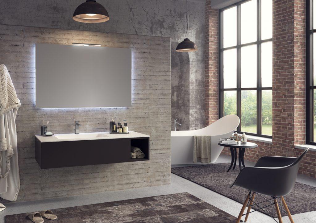 Gallery of rendering di interni arredo bagno arteba with for Arredo interni idee